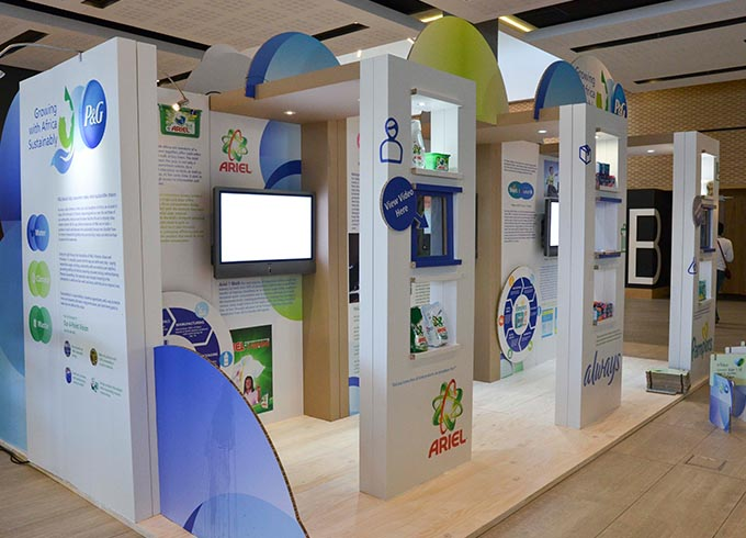 SUSTAINABILITY CONFERENCE - P&G Booth