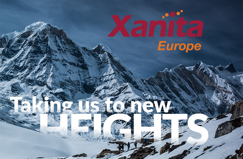 XANITA EUROPE IS HERE!