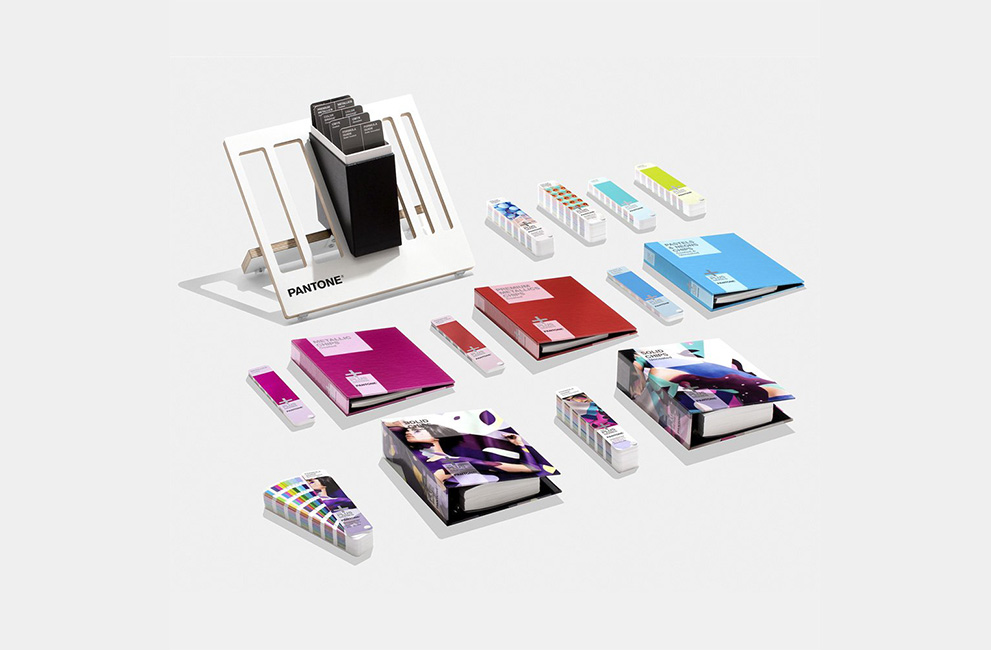 Pantone color library